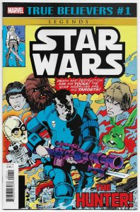 True Believers Star Wars Hunter #1 Reprints Issue #16 (Marvel, 2020) NM