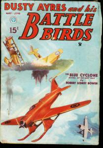 DUSTY AYERES AND HIS BATTLE BIRDS 1935 MAY SCI FI WAR FN