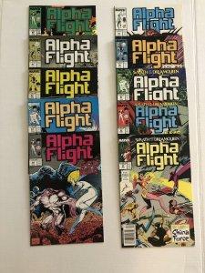 Alpha Flight #60- 70 Lot Of 11