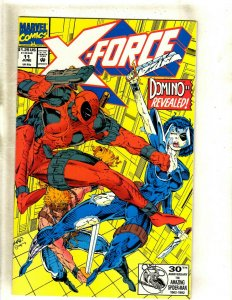 X-Force # 11 NM Marvel Comic Book Deadpool X-Men Wolverine Cable Domino HJ9