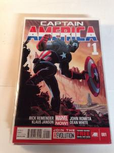 Captain America 1-15 Complete Near Mint Lot Set Run Marvel Now Remender Romita