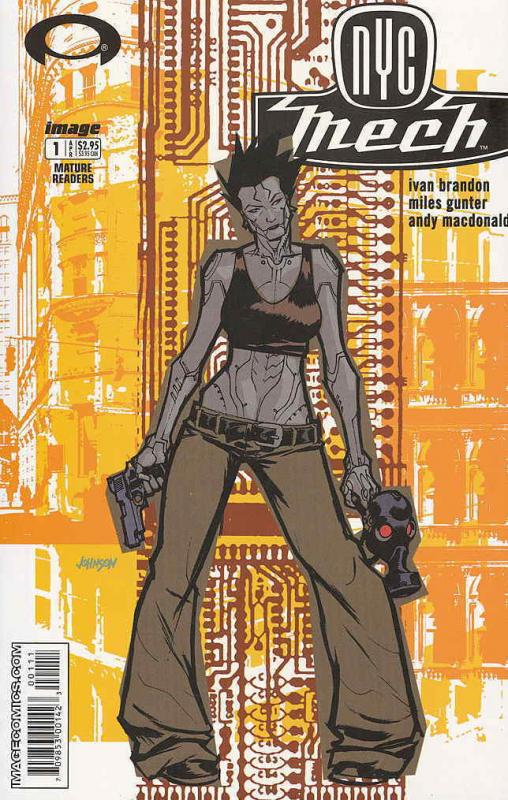 NYC Mech #1 VF/NM; Image | save on shipping - details inside