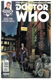DOCTOR WHO #9 A, NM, 12th, Tardis, 2016, Titan, 1st, more DW in store, Sci-fi