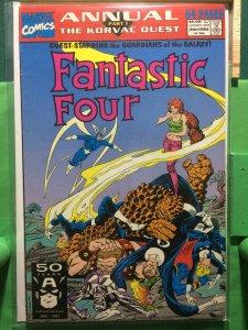 Fantastic Four Annual #24 The Korvac Quest part 1