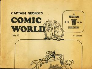 CAPTAIN GEORGES COMIC WORLD-REPRINTS-#20-WALT KELLY VG/FN
