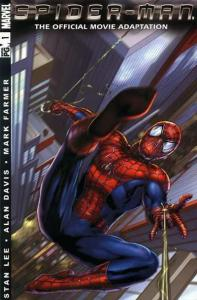 Spider-Man (1990 series) The Official Movie Adaptation #1, VF- (Stock photo)