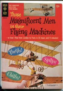 THOSE MAGNIFICENT MEN IN THEIR FLYING MACHINES #10162-510 1965-MOVIE EDITION-vf+