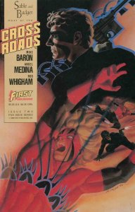 CROSS ROADS #2, NM, Sable, Badger, Mike Baron, First, 1988, more in store