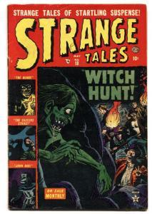 STRANGE TALES #18-1953-ATLAS-PRE-CODE HORROR-Rare!