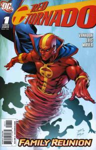 Red Tornado (2nd Series) #1 VF; DC | save on shipping - details inside