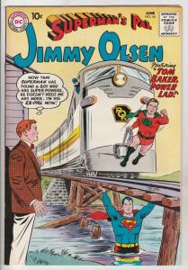 Jimmy Olsen, Superman's Pal  #45 (Jun-60) VF/NM High-Grade Jimmy Olsen