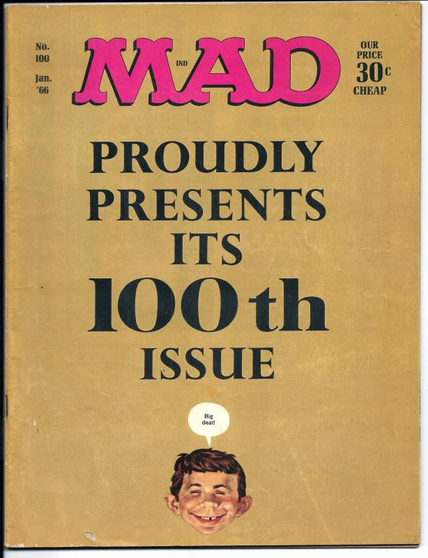 Mad No. 100, January, 1966 (FN)