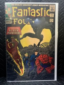 Fantastic Four #52  | Comic Book Cover Replica | 11x17 Poster