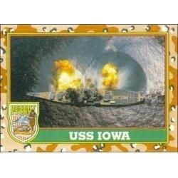 1991 Topps Desert Storm USS IOWA #59