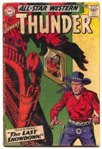 All Star Western Comics #111 1959- Johnny Thunder VG-