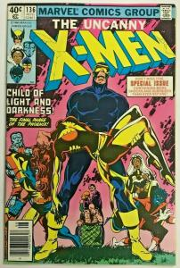 UNCANNY X-MEN#136 VF 1980 DARK PHOENIX SAGA MARVEL BRONZE AGE COMICS