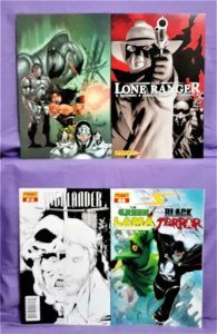 Project Superpowers DYNAMITE ENTERTAINMENT 4-Pack w Variants (Dynamite, 2007)!