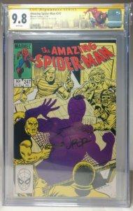 Amazing Spider-Man #247 SS John Romita Jr. CGC 9.8