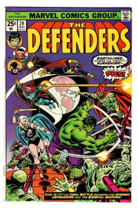 THE DEFENDERS #29-STARHAWK-Comic Book-guardians of the galaxy