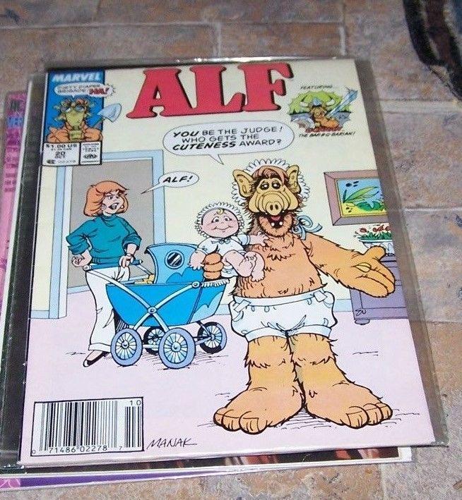 ALF #20 (Oct 1989, Marvel) Alien Life Form.. 80s tv show