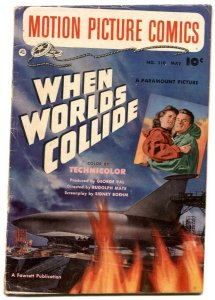 Motion Picture Comics #110 1952- WHEN WORLDS COLLIDE