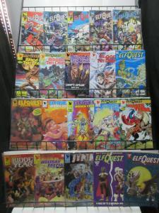 ElfQuest Mini-Library Lot of 53Diff Wendi Richard PIni's Fantasy Saga!