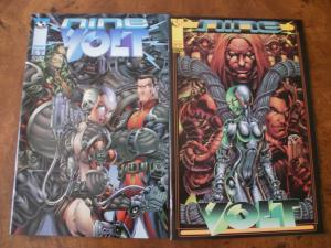 Nine Volt #2 #3 (Top Cow / image) 1997