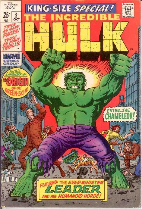 HULK ANN  2 FINE KIRBY/DITKO ORIGIN REPRINT COMICS BOOK