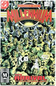 MILLENNIUM #1 2 3 4 6 7 8, VF/NM, 1987, 8 issues, DC Universe, Superman, 1-8