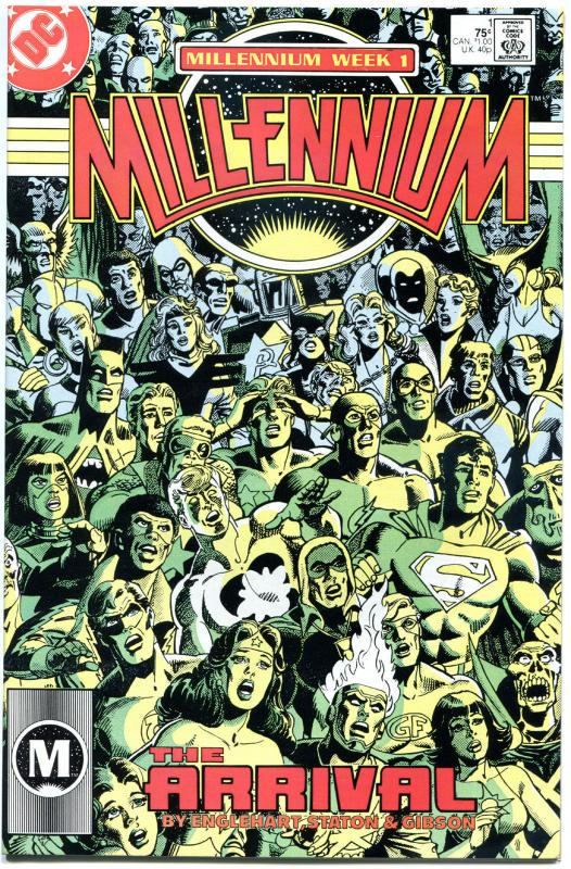MILLENNIUM #1 2 3 4 6 7 8, VF/NM, 1987, 8 issues, DC Universe, Superman, 1-8