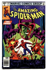 AMAZING SPIDER-MAN #207 comic book-1980-MARVEL VF