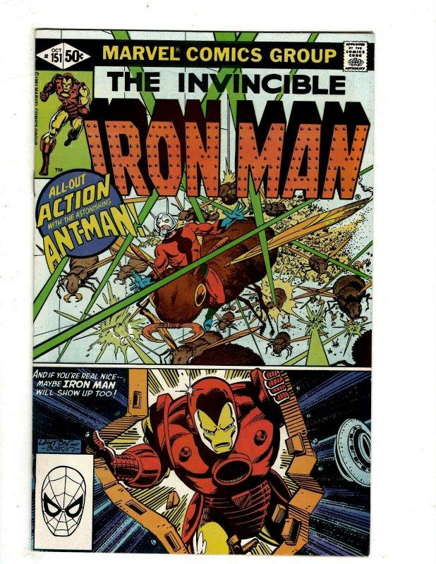 12 Iron Man Marvel Comics # 149 150 151 153 153 169 170 171 172 174 175 176 RB2