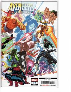 Avengers No Road Home (2018) 10 NM (9.4) 2nd Printing