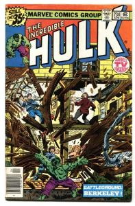 INCREDIBLE HULK #234 First QUASAR-MARVEL VG+