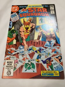 All Star Squadron 1 Very Fine/Near Mint Cover pencils by Rich Buckler