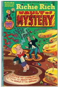 RICHIE RICH VAULT OF MYSTERY (1974-1982) 4 FN COMICS BOOK