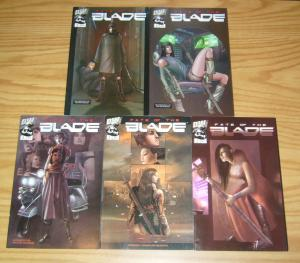 Fate of the Blade #1-5 VF/NM complete series - dreamwave comics set 2 3 4 manga?