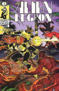 Alien Legion (Vol. 1) #16 VF/NM; Epic   save on shipping - details inside