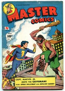 Master Comics #90 1948- Captain Marvel Jr- Bulletman- Nyoka VG+