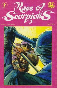 Race of Scorpions #2 VF; Dark Horse | save on shipping - details inside