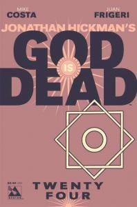 God is Dead #24, NM + (Stock photo)