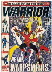 WARRIOR (1982 QUALITY) 10 VG-F May 1983