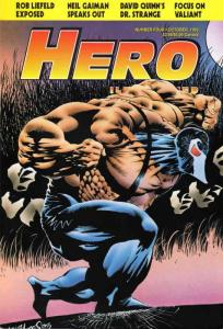 Hero Illustrated #4 VF/NM; Warrior | save on shipping - details inside