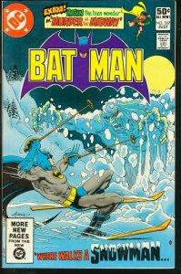 BATMAN #337-1981-DC VF