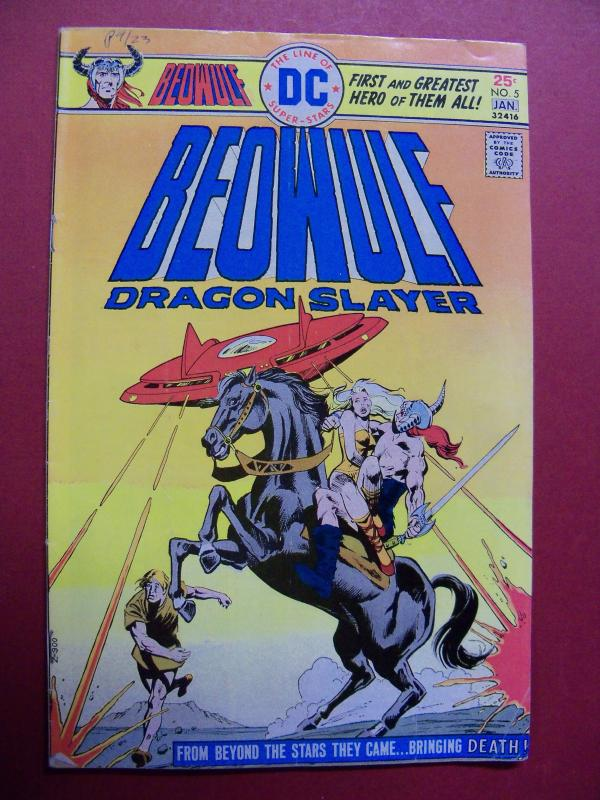 BEOWULF DRAGON SLAYER #5 (VG+ 4.5 or better) DC COMICS 1975