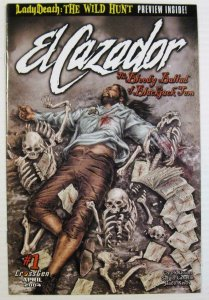 EL CAZADOR  the BLOODY SAGA of BLACKJACK TOM #1, NM, Pirates, 2004, Dixon, Sword