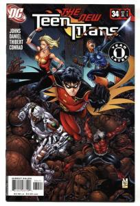 Teen Titans #34-2006 1st appearance of Zachary Zatara, cousin to Zatanna