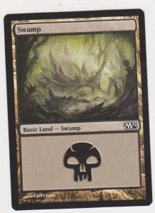 Magic the Gathering: Magic 2012 - Swamp