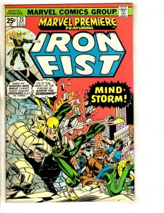 Marvel Premiere # 25 NM- Comic Book Dragon Kung Fu Ninja Iron Fist TW64