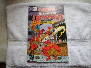 1986 DC COMICS LORDS OF THE - REALM # 4